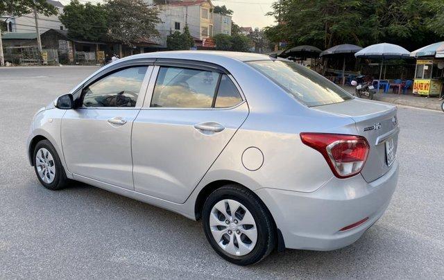 Hyundai Grand i10 1.2 Sport 2015, màu bạc, nhập khẩu, chính chủ cán bộ huyện Sóc Sơn, quá chất lượng2