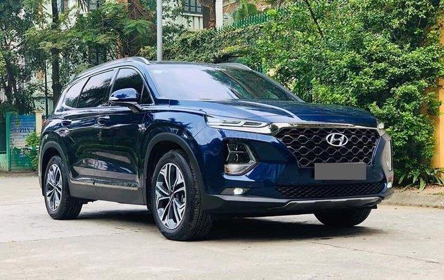 Hyundai Santafe sẵn xe giao luôn, đủ màu, giảm giá sốc1