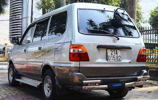 Bán Toyota Zace năm sản xuất 2000, màu bạc còn mới, 130 triệu4