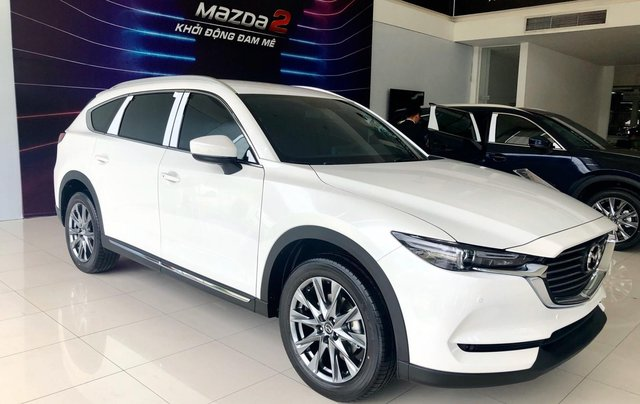 Mazda Phú Mỹ Hưng ưu đãi CX8 tặng nâng cấp gói phụ kiện và giảm lên đến 190tr1