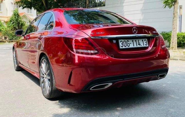 Bán xe C300 AMG SX 2017 - model 2018 màu đỏ/ nội thất đen3