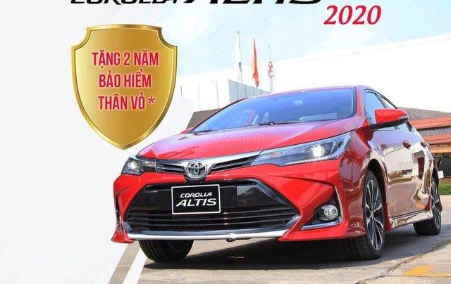 Toyota Altis 2020 - giảm giá sâu kèm nhiều PK chính hãng, tặng 2 năm bảo hiểm - giao xe ngay1