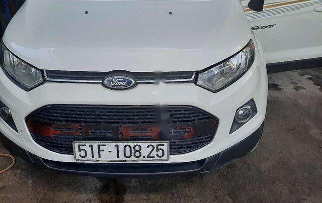 Cần bán xe Ford EcoSport đời 2015, màu trắng, nhập khẩu số tự động0
