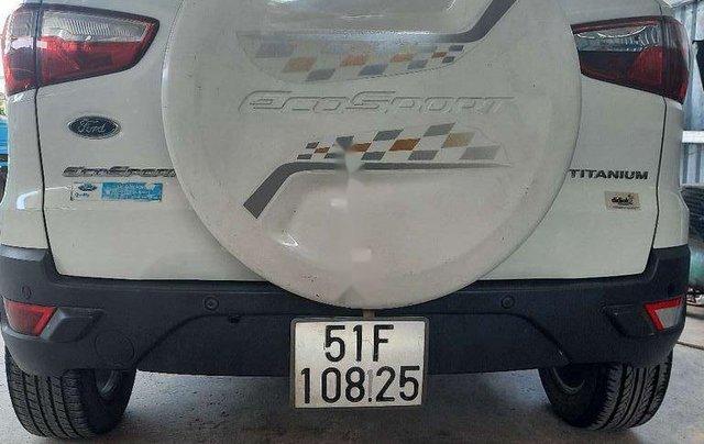 Cần bán xe Ford EcoSport đời 2015, màu trắng, nhập khẩu số tự động1