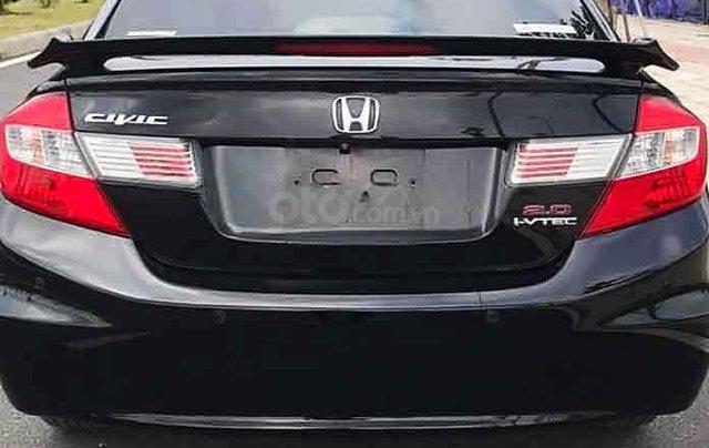 Cần bán xe Honda Civic năm 2014, màu đen còn mới, giá chỉ 545 triệu5