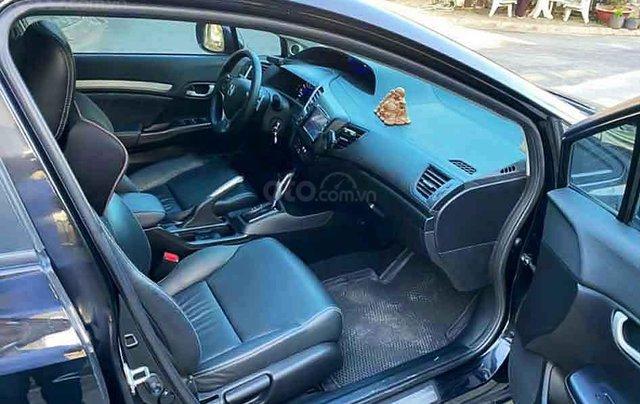 Cần bán xe Honda Civic năm 2014, màu đen còn mới, giá chỉ 545 triệu4