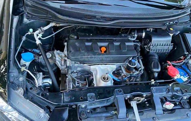 Cần bán xe Honda Civic năm 2014, màu đen còn mới, giá chỉ 545 triệu3