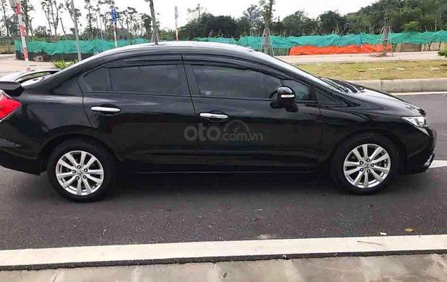 Cần bán xe Honda Civic năm 2014, màu đen còn mới, giá chỉ 545 triệu0