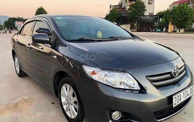 Xe Toyota Corolla sản xuất 2008, màu xám, xe nhập còn mới, giá tốt0