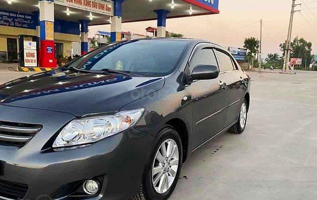 Xe Toyota Corolla sản xuất 2008, màu xám, xe nhập còn mới, giá tốt3