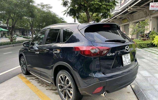 Cần bán lại xe Mazda CX 5 sản xuất năm 2016, màu xanh lam chính chủ1