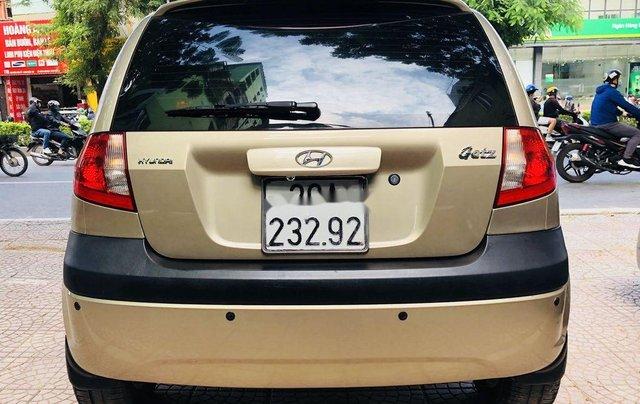 Bán Hyundai Getz 2009, màu vàng, giá tốt2