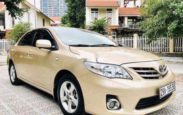 Bán xe Toyota Corolla 2011, màu vàng, nhập khẩu nguyên chiếc còn mới, giá 435tr1