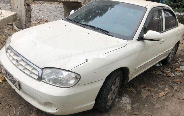 Bán ô tô Kia Spectra đời 2005, màu trắng, xe nhập còn mới0