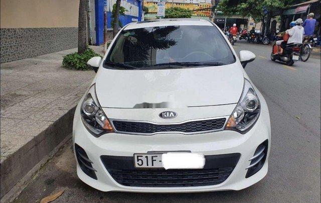 Bán ô tô Kia Rio sản xuất 2015, màu trắng, nhập khẩu nguyên chiếc0