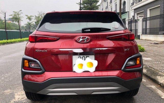 Bán Hyundai Kona đời 2019, màu đỏ còn mới, giá 705tr3