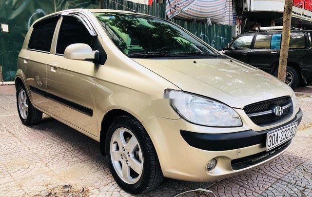 Bán Hyundai Getz 2009, màu vàng, giá tốt1