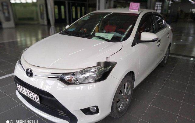Cần bán lại xe Toyota Vios năm 2018, màu trắng, giá 465tr3