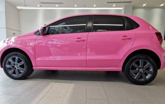 Cần bán Volkswagen Polo đời 2016, màu hồng, xe nhập8