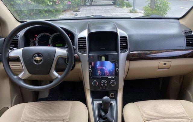 Cần bán Chevrolet Captiva sản xuất năm 2009, màu vàng chính chủ, giá 270tr10