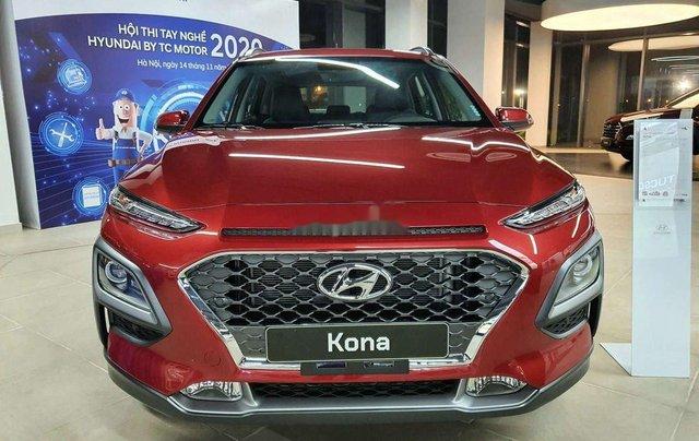 Bán ô tô Hyundai Kona 2020, màu đỏ, 671 triệu1