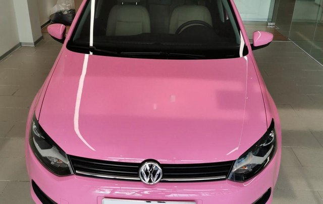 Cần bán Volkswagen Polo đời 2016, màu hồng, xe nhập0