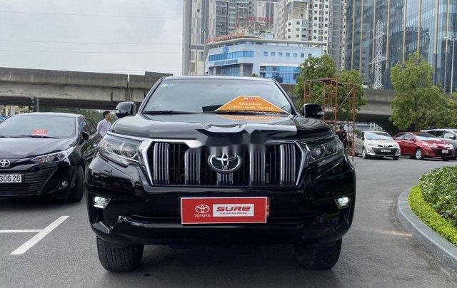 Bán Toyota Prado đời 2018, màu đen, xe nhập còn mới0