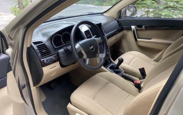 Cần bán Chevrolet Captiva sản xuất năm 2009, màu vàng chính chủ, giá 270tr7