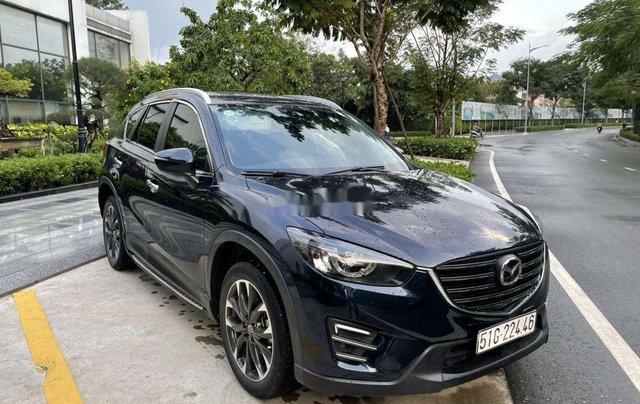Cần bán lại xe Mazda CX 5 sản xuất năm 2016, màu xanh lam chính chủ0