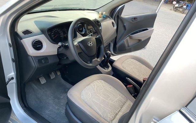 Xe Hyundai Grand i10 sản xuất 2015, màu bạc còn mới giá cạnh tranh4