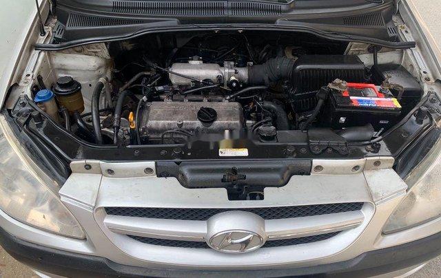 Cần bán gấp Hyundai Getz 2008, màu bạc, nhập khẩu chính chủ, giá 122tr4