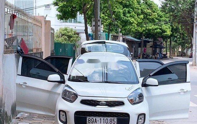 Bán xe Kia Morning 2017, màu trắng chính chủ, giá 230tr