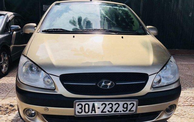 Bán Hyundai Getz 2009, màu vàng, giá tốt0