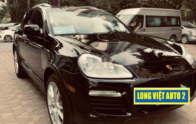Cần bán lại xe Porsche Cayenne đời 2009, màu đen, xe nhập chính chủ, giá tốt1