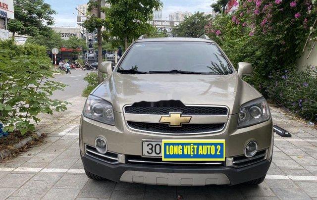Cần bán Chevrolet Captiva sản xuất năm 2009, màu vàng chính chủ, giá 270tr0