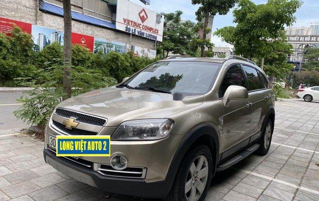 Cần bán Chevrolet Captiva sản xuất năm 2009, màu vàng chính chủ, giá 270tr1