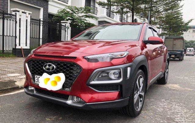 Bán Hyundai Kona đời 2019, màu đỏ còn mới, giá 705tr0