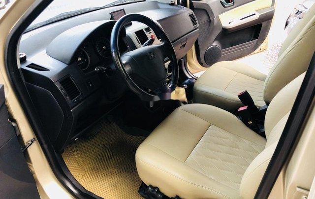 Bán Hyundai Getz 2009, màu vàng, giá tốt5