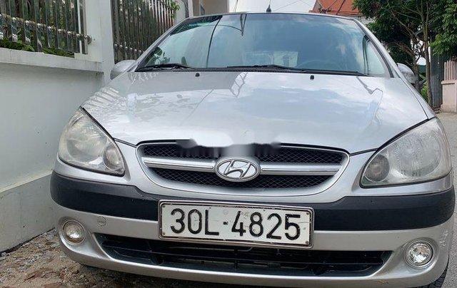 Cần bán gấp Hyundai Getz 2008, màu bạc, nhập khẩu chính chủ, giá 122tr0