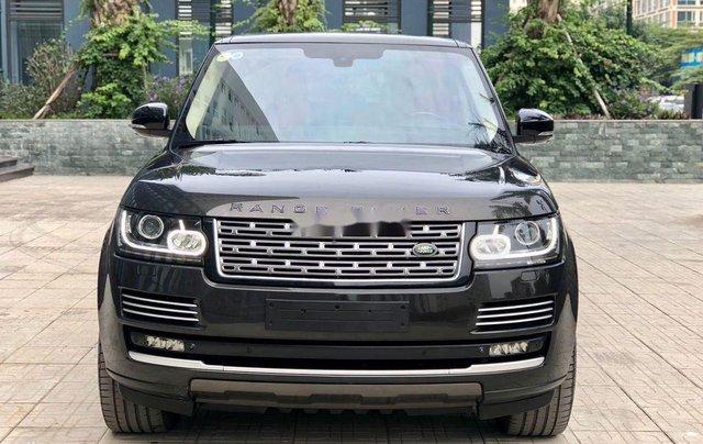 Cần bán LandRover Range Rover Autobiography LWB 5.0 năm sản xuất 2015, màu đen1