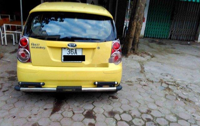 Bán ô tô Kia Morning sản xuất 2009, màu vàng3
