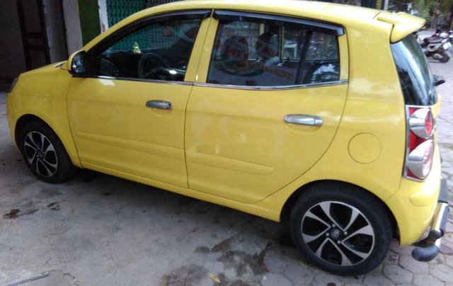 Bán ô tô Kia Morning sản xuất 2009, màu vàng0