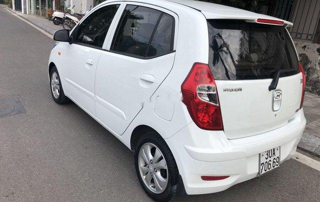 Bán xe Hyundai Grand i10 sản xuất 2012, màu trắng, nhập khẩu 1