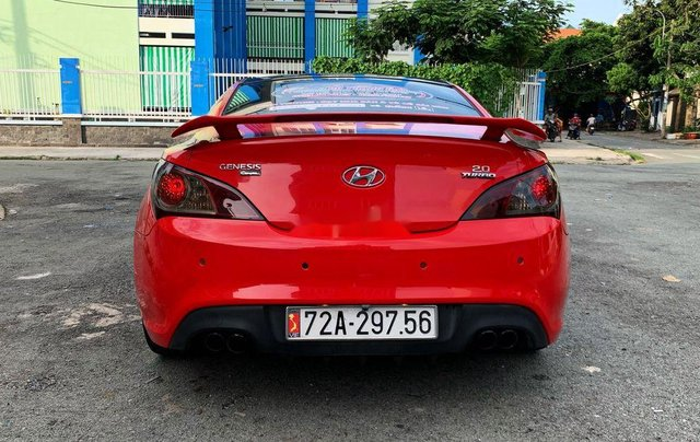 Bán ô tô Hyundai Genesis đời 2010, màu đỏ, nhập khẩu, giá 475tr4