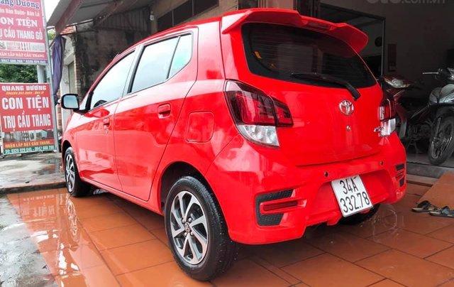 Cần bán xe Toyota Wigo SX 2019, màu đỏ0