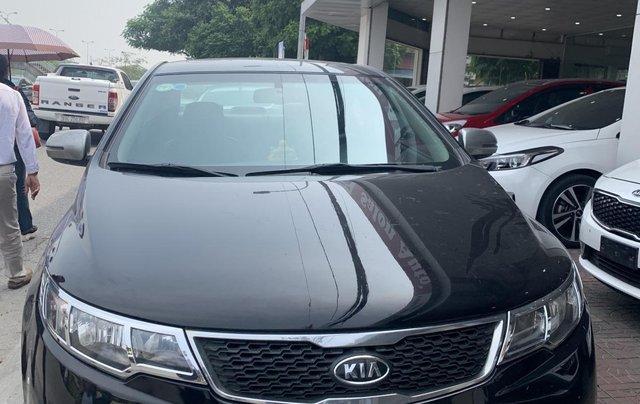 Bán xe Kia Forte năm sản xuất 2011, màu đen0