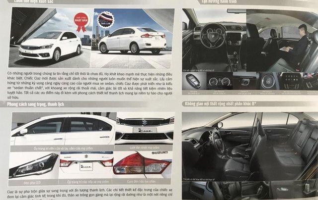 Bán Suzuki Ciaz 2020 mới 100%, giá 494 tr, chỉ cần 180 triệu có xe ngay, hỗ trợ từ a -z, giá cạnh tranh nhiều ưu đãi8