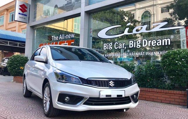 Bán Suzuki Ciaz 2020 mới 100%, giá 494 tr, chỉ cần 180 triệu có xe ngay, hỗ trợ từ a -z, giá cạnh tranh nhiều ưu đãi0