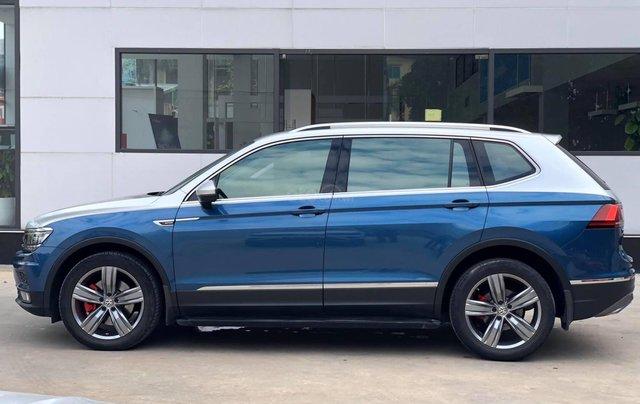 Volkswagen Tiguan Highline SX 2018 ĐK 2019, màu xanh1