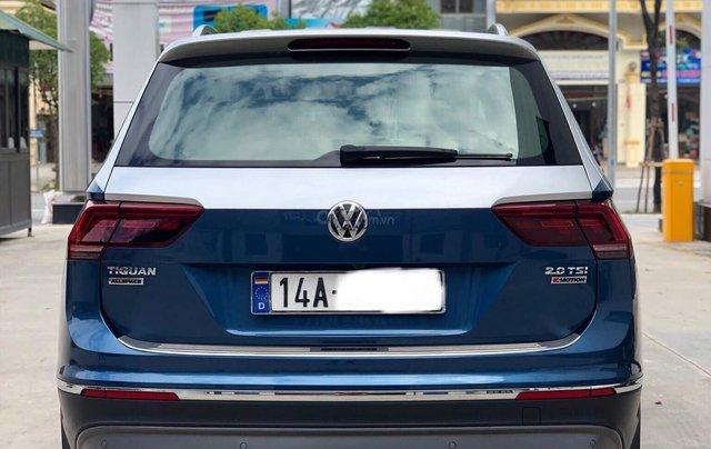 Volkswagen Tiguan Highline SX 2018 ĐK 2019, màu xanh3